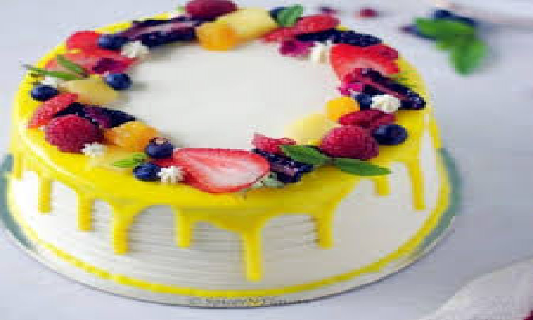 Mixed fruits cakes