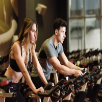 Cycling to stay fit